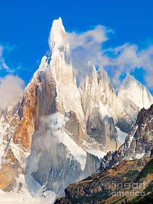 Cerro Torre Poster by JR Photography