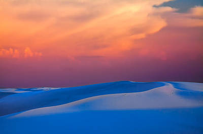 Cerulean Sands Poster by Tom Weisbrook