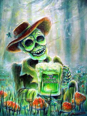 Cerveza Verde Poster