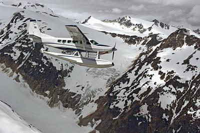 Cessna Caravan Amphibian Seaplane Poster by Brechin Maclean