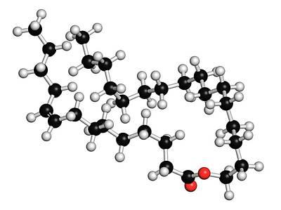 Cetyl Myristoleate Food Supplement Poster by Molekuul