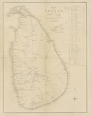 Ceylon Poster by British Library