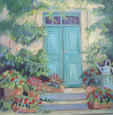 Cezanne's Art Studio Poster by Linda  Wissler