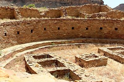 Chaco Ruins Poster