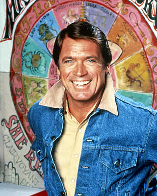 Chad Everett In The Rousters  Poster by Silver Screen