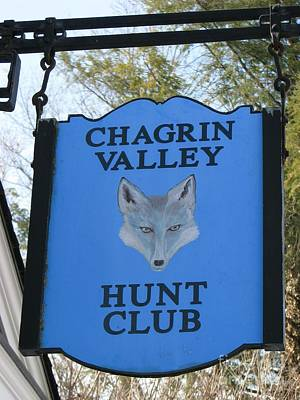 Chagrin Valley Hunt Club Poster by Michael Krek