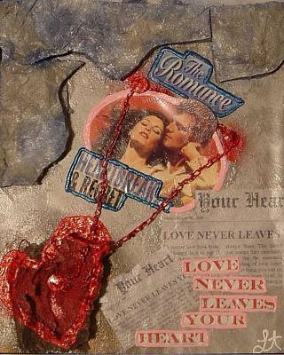 Poster featuring the painting Chains Of Love by Lisa Piper