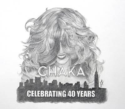 Chaka 40 Years Poster