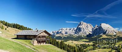 Chalet In South Tyrol Poster by Carsten Reisinger