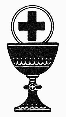 Chalice And Cross Poster by Granger