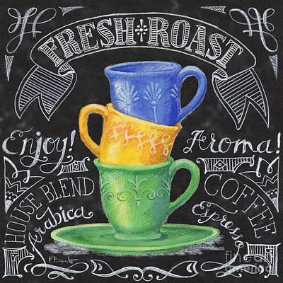 Chalkboard Coffee I Poster