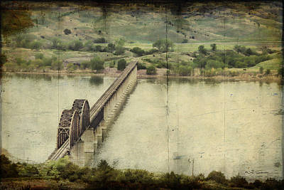 Chamberlain Railroad Bridge Over Missouri River Poster