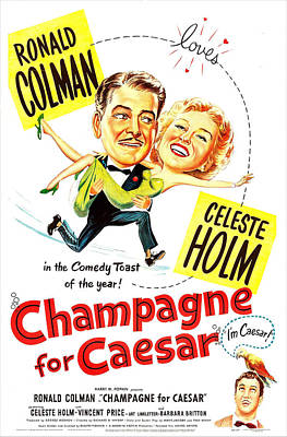 Champagne For Caesar, Us Poster, Top Poster by Everett