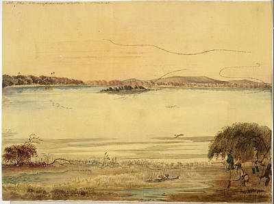 Champaneer Lake Poster