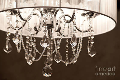Poster featuring the photograph Chandelier by Aiolos Greek Collections