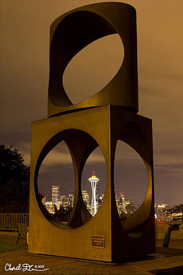Changing Form Of Seattle Poster