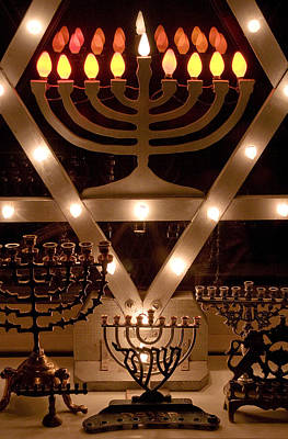 Chanukah I Poster by Michael Friedman