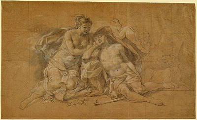 Charles-antoine Coypel, Diana And Endymion Poster