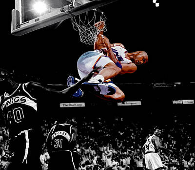 Charles Barkley Hanging Around Poster by Brian Reaves