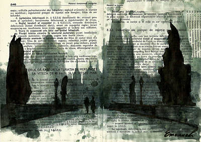 Charles Bridge - Prague Poster by Ologeanu Mirel