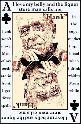 Charles Bukowski. The Ace Of Clubs Poster