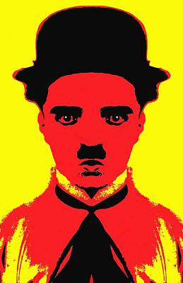 Charles Chaplin Charlot Alias Poster by Art Cinema Gallery