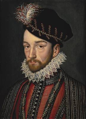 Charles Ix 1550-1574. King Of France Poster by Everett