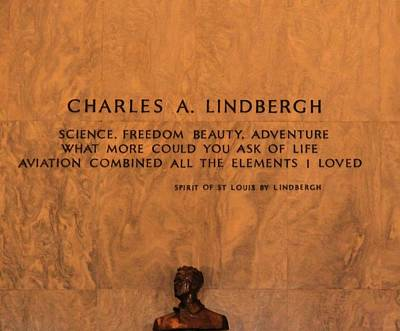 Charles Lindbergh Poster by Dan Sproul