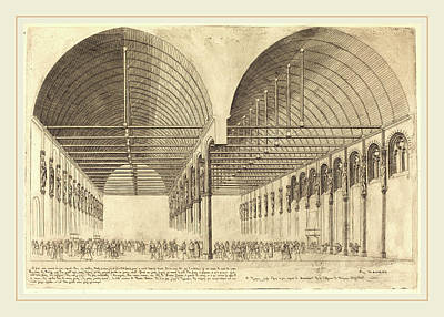 Charles Meryon French, 1821-1868, La Salle Des Pas-perdus Poster by Litz Collection
