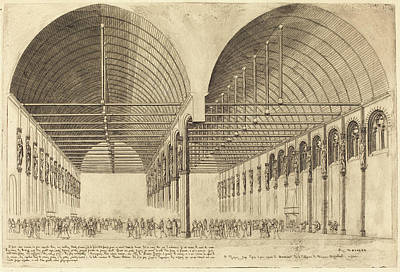Charles Meryon French, 1821 - 1868, La Salle Des Pas-perdus Poster by Quint Lox