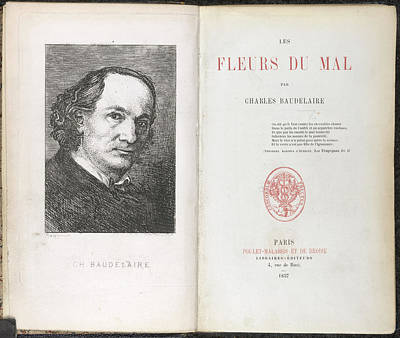 Charles Pierre Baudelaire Poster