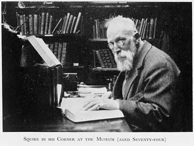 Charles Sherborn, British Taxonomist Poster
