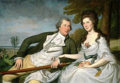 Charles Willson Peale, Benjamin And Eleanor Ridgely Laming Poster