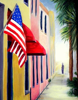 Charleston Alley Poster by Shelia Kempf