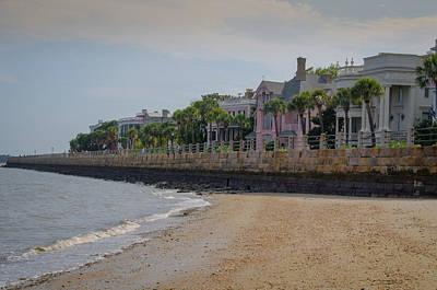 Poster featuring the photograph Charleston Battery by Serge Skiba
