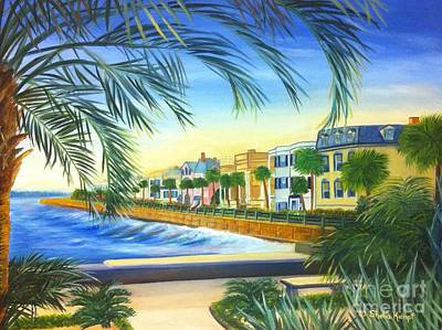 Charleston Battery Poster by Shelia Kempf