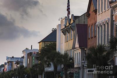 Charleston Sc King Street Sunset Poster
