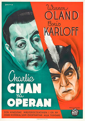 Charlie Chan At The Circus, Aka Charlie Poster by Everett