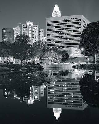 Charlotte Black And White Poster by Frozen in Time Fine Art Photography