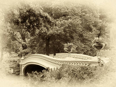 Charm Of Bow Bridge Poster by Jessica Jenney