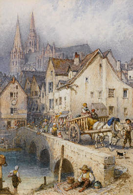 Charters Poster by Myles Birket Foster