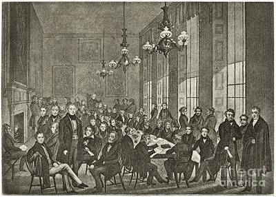 Chartists National Convention, 1839 Poster by Middle Temple Library