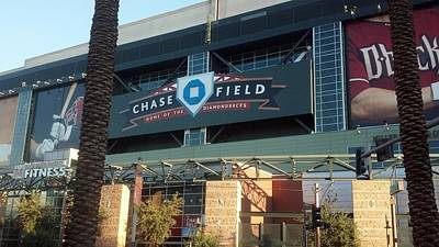 Chase Field Poster by Scott Decker