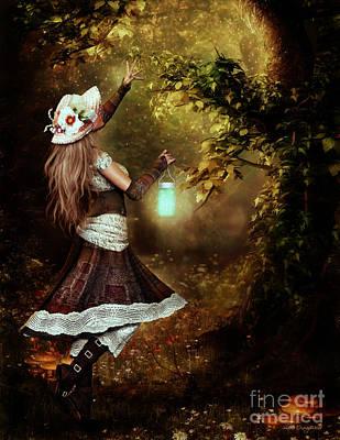 Chasing Magic Poster by Shanina Conway