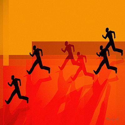 Chasing Shadows Poster by Bob Orsillo