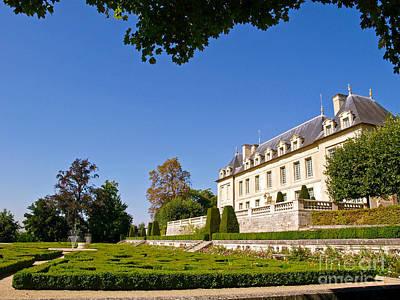 Chateau D'auvers-sur-oise Poster by Alex Cassels