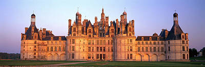 Chateau De Chambord Chambord Chateau Poster by Panoramic Images