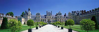 Chateau De Fontainebleau Ile De France Poster by Panoramic Images