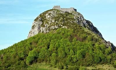 Chateau De Montsegur Poster