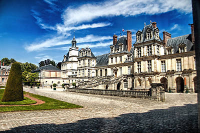 Chateau Fontainebleau - France Poster by Jon Berghoff